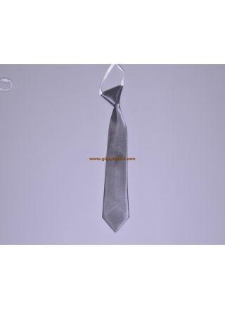 Çocuk Kravatı Gümüş