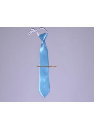 Çocuk Kravatı Turkuaz Mavi