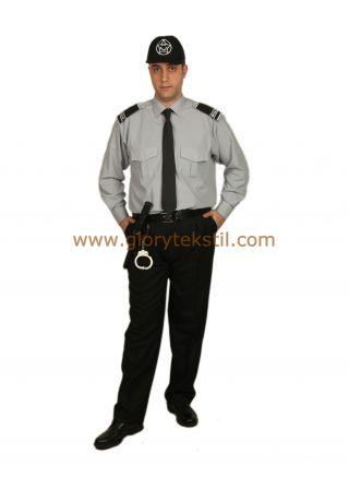 Özel Güvenlik Gömlek Gri
