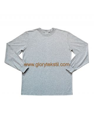 Uzun Kol Melanj T-Shirt