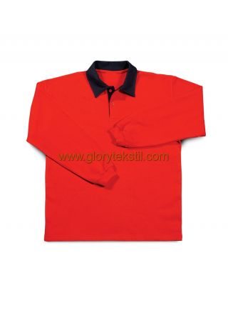 Sweatshirt Polo Yaka