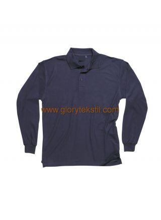 Uzun Kollu Polo T-Shirt