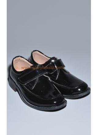 Sünnet Ayakkabısı Siyah Rugan