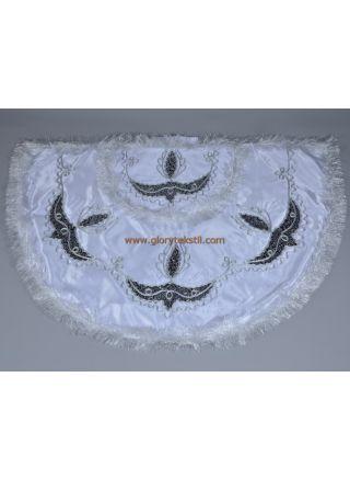 Sünnet Pelerini Beyaz-Lacivert Prens Model