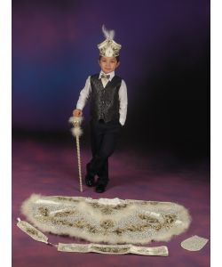 Sünnet Kıyafeti Paşa Model Krem-Laci