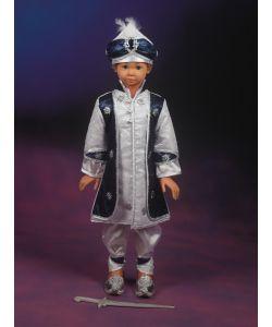 Şehzade Sünnet Kıyafeti Sadrazam Model Beyaz-Lacivert