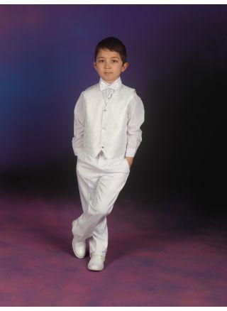 Yelekli Takım Beyaz