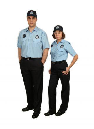 Zabıta Yazlık Gömlek (Kravat Yaka)